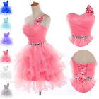 2015 STOCK Short Prom Graduation Evening Formal Party Gown Masquerade Dress 2-16