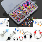 5pcs Wholesale Bulks Tongue Eyebrow Lip Belly Navel Rings Body Piercing Jewelry