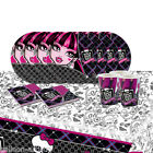 Monster High Children's Birthday Complete Party Tableware Pack For 16