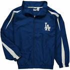 Los Angeles Dodgers Men's Big & Tall MT Full-Zip Microfiber Jacket MLB on Ebay