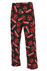 Marvel Comics Deadpool All Over NWT Pajama Sleep Lounge Pants