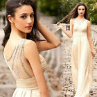 VINTAGE Long Evening Ball Gowns Casual Cocktail Party Bridesmaid Prom Dresses us