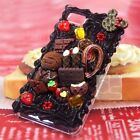 Chocolate Sweets Whip Cream Hand Craft Diy Bling Hard Skin Case Cover For iPhone