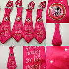 Job Lots Of Take Me Out Hen Night/Girls Night Out Novelty Ties
