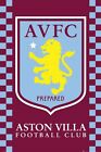 New Aston Villa Crest Aston Villa Football Club Poster