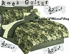 New Teen BOYS GUITAR Music Green Comforter~Sheets~Sham(s)...