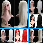 High Quality Sexy Ladies Womens Straight Fashion Wig Cosplay Costume Fancy Dress