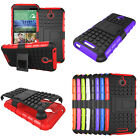 Fashion Dual Layer 2 in 1 Rugged Hybrid Hard Case For HTC desire 510 Hottest