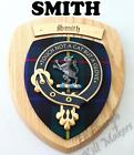 SMITH CLAN CREST WALL PLAQUE PLAQUES AVAILABLE IN ANY CLAN NAME