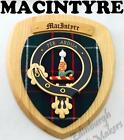 MACINTYRE CLAN CREST WALL PLAQUE PLAQUES AVAILABLE IN ANY CLAN NAME