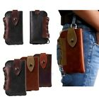 2015 CowBoy PU Leather Belt Holster Pouch Sleeve Bag Case Fr Cell Phone + Buckle