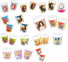 8 PARTY CUPS - Range of LICENSED CHARACTER DESIGNS (Birthday Supplies){SetD}