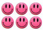 Mini Smiley Face Circle Fridge Magnets - MADE IN UK - Gifts & Kitchen - 25mm