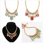 Fashion charm Gem Chain Crystal Choker Chunky Statement Bib Necklace Collar New