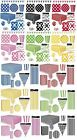 SPOTS & STRIPES Party Ranges (Polka Dot)Tableware & Decorations{Fixed £2 UK p&p}