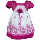 Princess Girl Kids Organza Flower Pageant Wedding Party Communion Birthday dress
