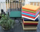 """15""""X15""""X2"""" FOAM OUTDOOR UNIVERSAL BISTRO CHAIR PAD CUSHION-CHOOSE SOLID COLORS"""