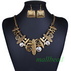 Fashion Personality Charm Jewelry Music note Chain Choker Statement bib Necklace