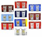 OFFICIAL FOOTBALL CLUB - SHOT GLASS SET (Pack of 2) All Teams (Glasses, Drink)