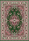 TRADTIONAL MEDALLION PERSIAN GREEN AREA RUG BORDER ORIENTAL MULTI-COLOR CARPET