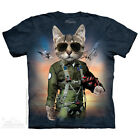 THE MOUNTAIN TOM CAT KITTY ARMY MILITARY AIR FORCE FIGHTER T TEE SHIRT S-5XL