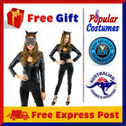 Sexy Cat Woman Super Hero Justice League Avengers DC Halloween Costume with Mask