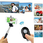New Monopod Selfie Stick Telescopic With Bluetooth Wireless Remote Phone Holder