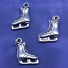 20/40/100pcs retro style Beautiful ice skating boots alloy charms pendants