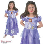 FANCY DRESS COSTUME ~ GIRLS DISNEY PRINCESS CLASSIC SOFIA SOPHIA AGE 2-6 YEARS
