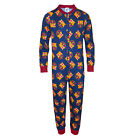FC Barcelona Official Football Gift Boys Kids Pyjama Onesie (RRP £14.99!)