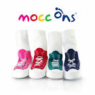 """Mocc Ons"" the Clever Little Slipper Socks Keeps Baby's Toes Warm: 24-36m/2-3yrs"