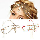 Lady's Head Chain Fashion Jewelry Retro Flash Luxury Hair Band Hair Accessories