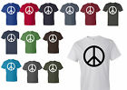Peace Symbol T-shirt Anvil Men's Tee All sizes and All Colors High Quality New