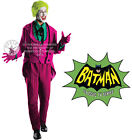 DELUXE HIRE QUALITY JOKER SUPERHERO ADULT MENS FANCY DRESS COSTUME