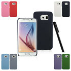 Color Quicksand Scrub Hard Back Case Cover Skin Protector F Samsung Galaxy S6 r1