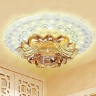Modern Φ18cm 9W LED Crystal Ceiling Lights Chandeliers Aisle/Porch Lights 1747H