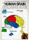 THE HUMAN BRAIN COLORING BOOK (1985) LARGE PAPERBACK