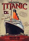 "Vintage 1912 ""TITANIC.HARLAND & WOLFF""  Vintage Advertising Poster A1A2A3A4Sizes"