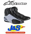 ALPINESTARS FASTER MOTORCYCLE BOOTS MOTORBIKE SCOOTER SHORT ANKLE BOOT BLUE J&S