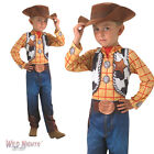 FANCY DRESS COSTUME ~ CHILDS BOYS DISNEY PIXAR TOY STORY CLASSIC WOODY AGES 3-8