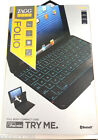 ZAGG keys Folio Case Wireless Bluetooth Backlit Keyboard iPad mini 1 & 2 Retina