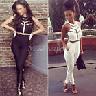 New Womens Ladies Sexy Slim Bodycon Jumpsuit Romper Trousers Clubwear Bodysuit