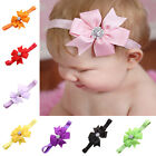 Baby Big Flower Headband Jewel Infant Toddler Bow Hair Band Accessories Photo