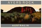 Iconic Ayers Rock Scenic Travel Print. Limited Edition of 250 Signed Artwork