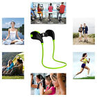 Wireless Bluetooth Sport Stereo Headset Earphone For Cell Phone iPhone Samsung