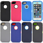 Heavy Duty Defender Protector Shockproof Hard Case Cover for Apple iPhone 5 5S
