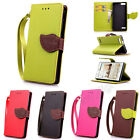 Leaf Magnetic Wallet Card Leather Case Strap Cover For Huawei Ascend G6 G7 Y550