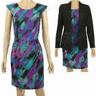 Ladies UK High Street Smart Casual Summer Dress Size Uk 8 - 24 Work Formal
