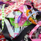 Assorted Satin Grosgrain Ribbon Craft Sewing 10/25X1Yards Off Cuts Bundle Smart