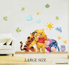 Wall Stickers Large Winnie the pooh Removable Decal Art Baby Room decor kids